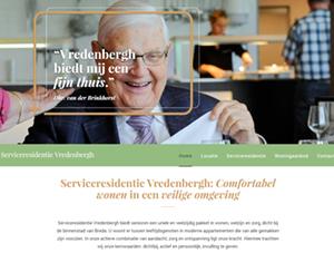 Serviceresidentie Vredenbergh Website